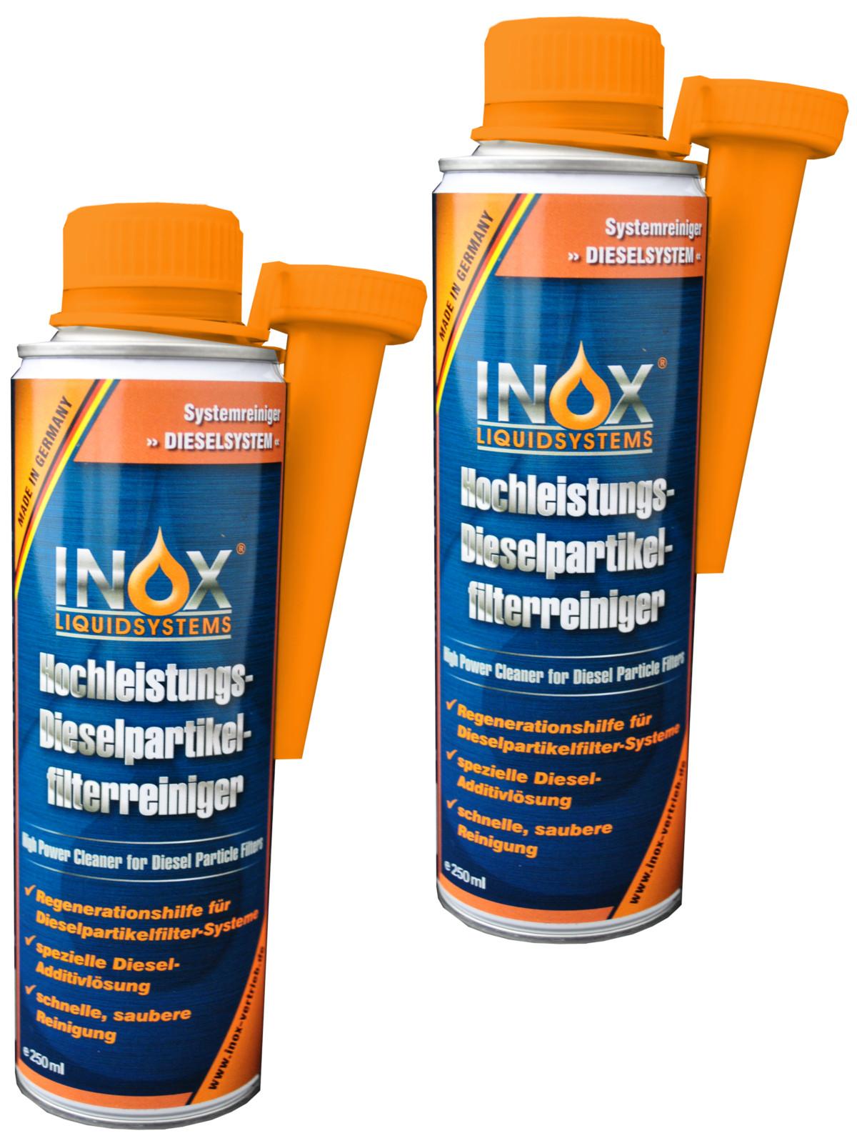 inox diesel partikel filter reiniger diesel addtiv 2x 250. Black Bedroom Furniture Sets. Home Design Ideas