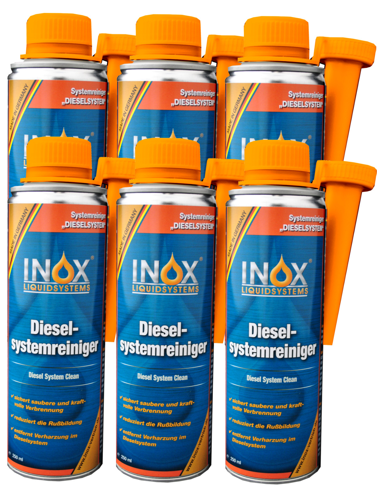 inox diesel systemreiniger injector einspritzreiniger 6x. Black Bedroom Furniture Sets. Home Design Ideas